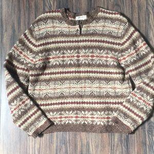 Vintage Warm Wool Sweater
